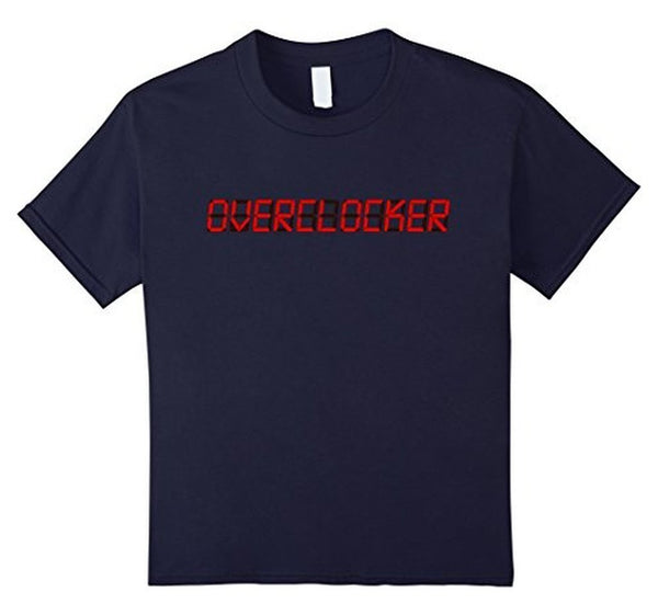 OVERCLOCK for rendering geek MEN T-shirt Navy / XL / Women T-Shirt BelDisegno