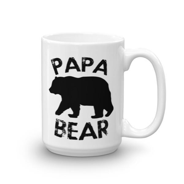 PAPA BEAR Coffee Mug 15oz Mug BelDisegno