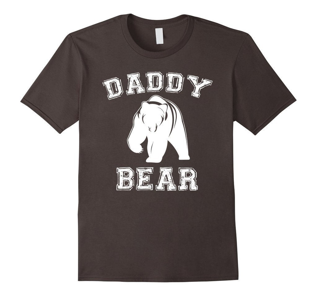 PAPA Bear father's day new papa Daddy T-shirt