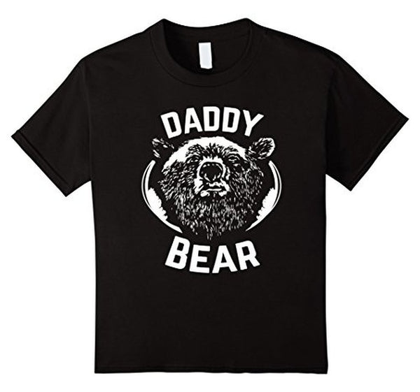 PAPA Bear father's day new papa Daddy T-shirt Black / 3XL T-Shirt BelDisegno
