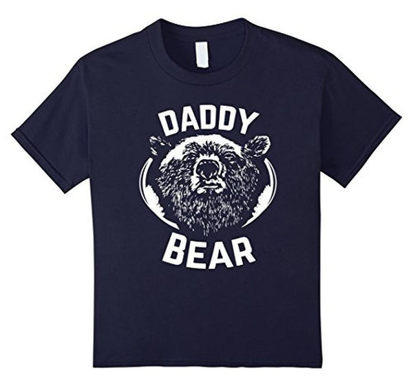 PAPA Bear father's day new papa Daddy T-shirt Navy / 3XL T-Shirt BelDisegno