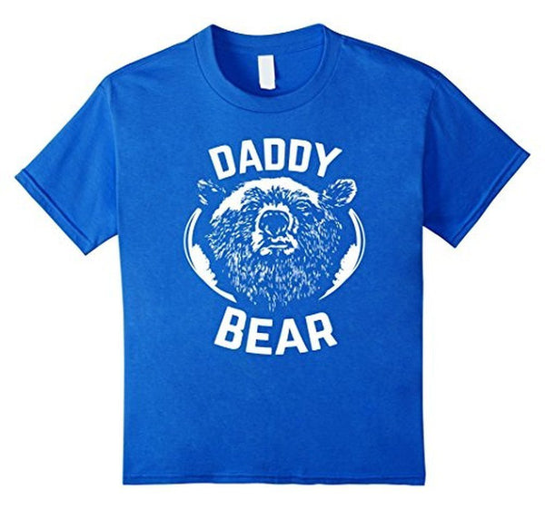 PAPA Bear father's day new papa Daddy T-shirt Royal Blue / 3XL T-Shirt BelDisegno