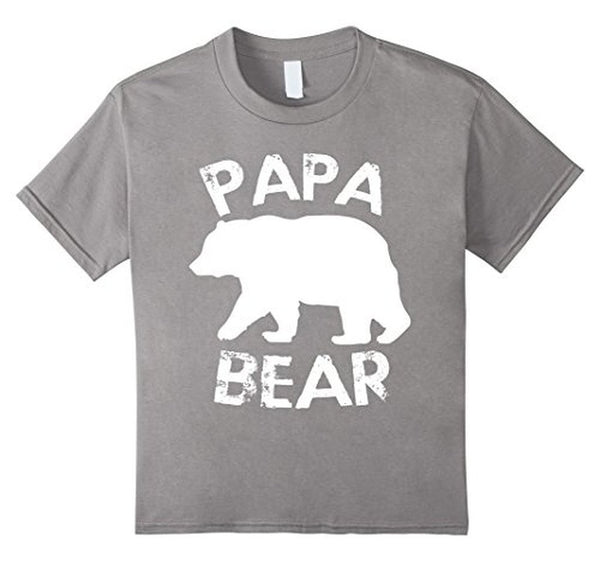PAPA BEAR T-shirt Heather Grey / 3XL T-Shirt BelDisegno