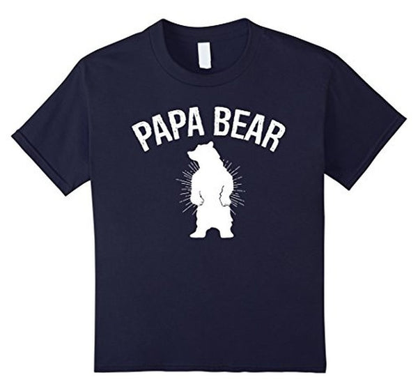 PAPA BEAR T-shirt Navy / 3XL T-Shirt BelDisegno