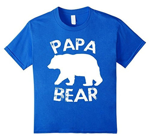 PAPA BEAR T-shirt Royal Blue / 3XL T-Shirt BelDisegno