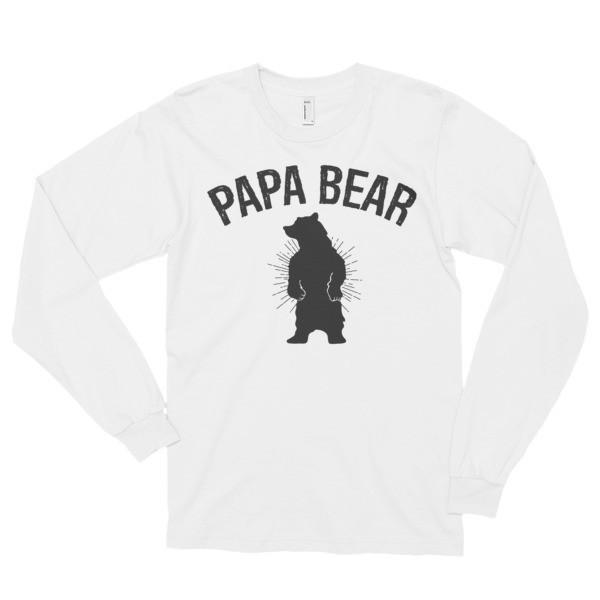 papa bear T-shirt White / 2XL T-Shirt BelDisegno
