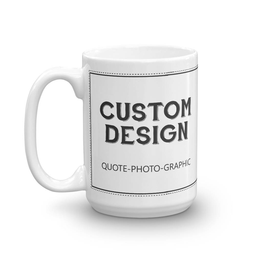 Personalized Coffee Mug - Custom Mug Picture Photo Text Logo Dog printed Mug-Mug-BelDisegno-BelDisegno