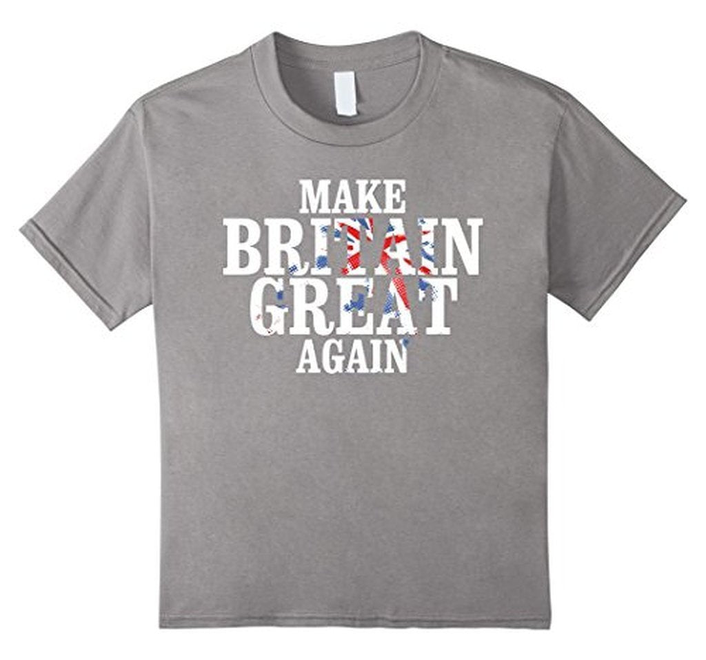 Political Make Britain Great Again Brexit T-shirt Heather Grey / 3XL T-Shirt BelDisegno