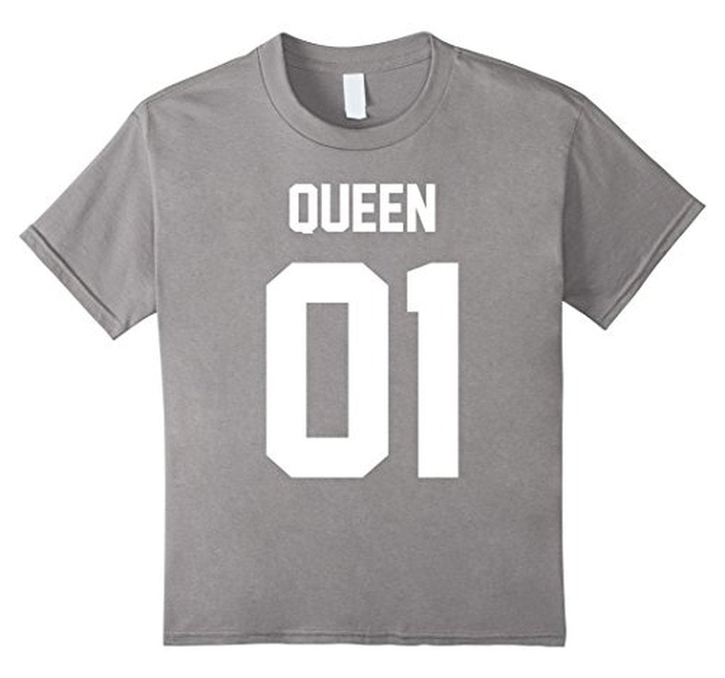 Queen 01 Matching Couple jersey style s T-shirt  T-Shirt BelDisegno