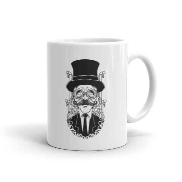 Steampunk Man Coffee Mug 11oz Mug BelDisegno