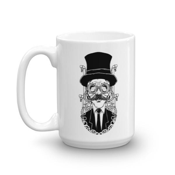 Steampunk Man Coffee Mug  Mug BelDisegno