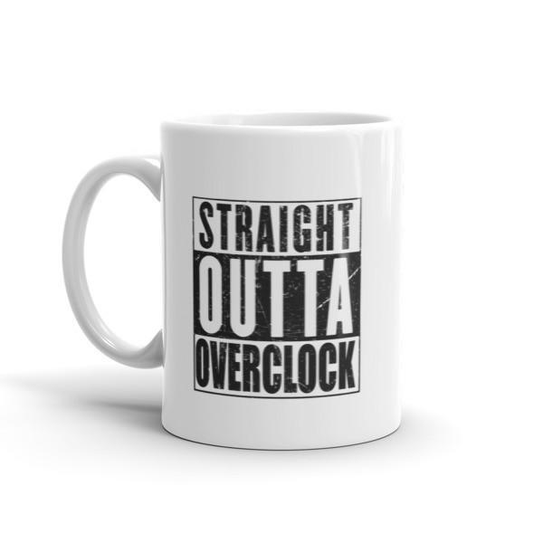 Straight Outta Overclock for Overclockers Coffee Mug  Mug BelDisegno