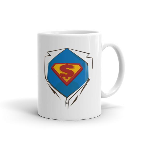 Superhero Chest Coffee Mug 11oz Mug BelDisegno