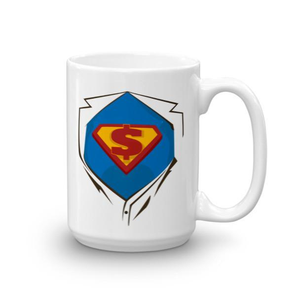 Superhero Chest Coffee Mug 15oz Mug BelDisegno