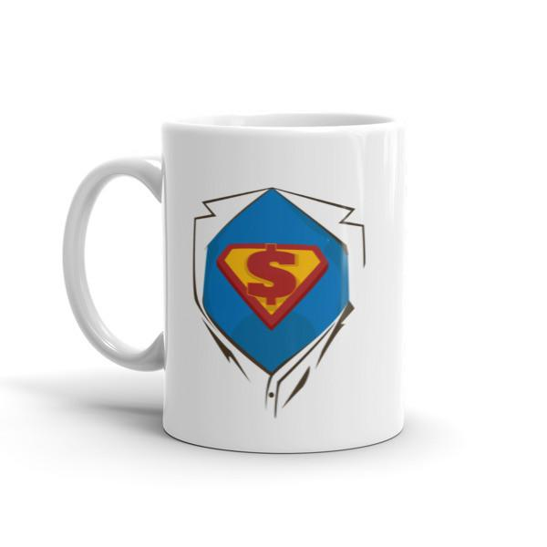 Superhero Chest Coffee Mug  Mug BelDisegno