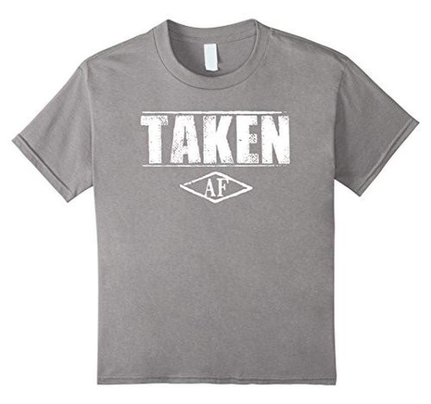 Taken AF Funny T-shirt Heather Grey / 3XL T-Shirt BelDisegno