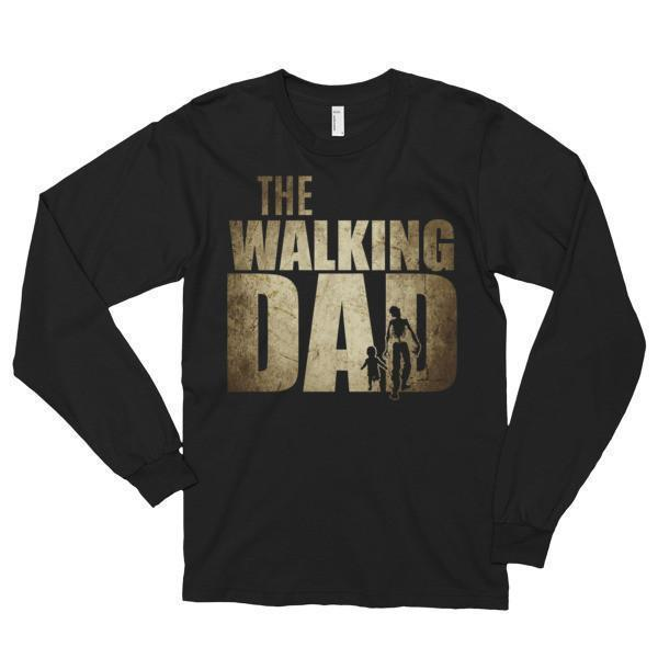 The Walking Dad T-shirt Black / 2XL T-Shirt BelDisegno