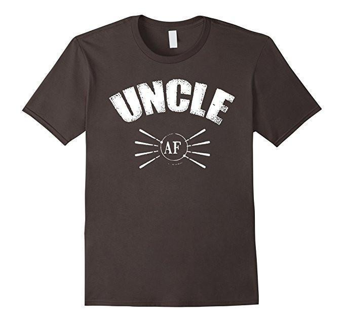 Uncle AF Funny gift for Uncle T-shirt