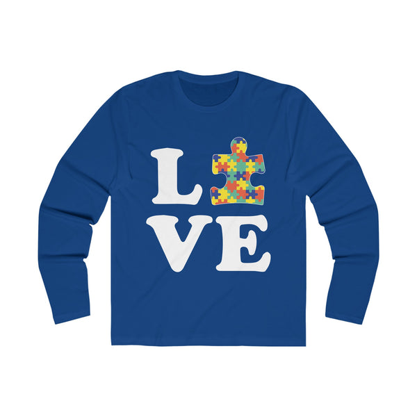 Love Autism Autism Awareness T-shirt Solid Royal / 2XL T-Shirt BelDisegno