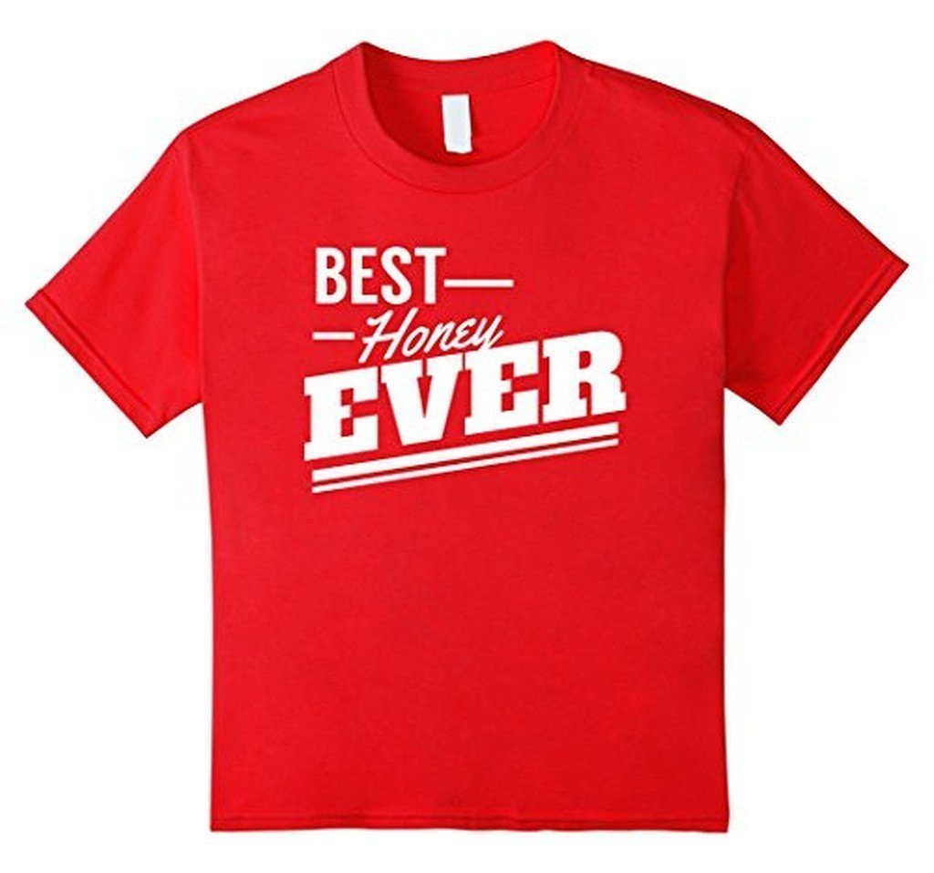 Valentine Gifts for Him & Her Best Honey Ever sweet T-shirt Red / 3XL T-Shirt BelDisegno