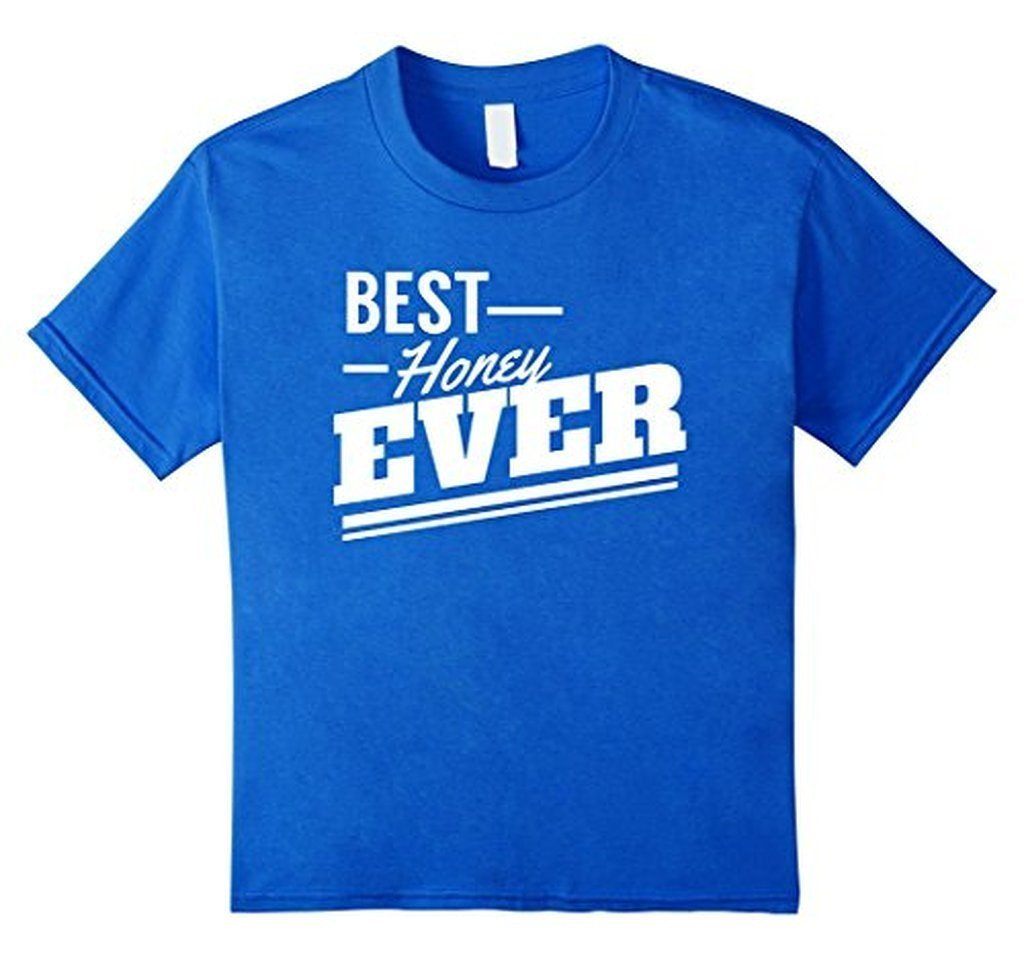 Valentine Gifts for Him & Her Best Honey Ever sweet T-shirt Royal Blue / 3XL T-Shirt BelDisegno