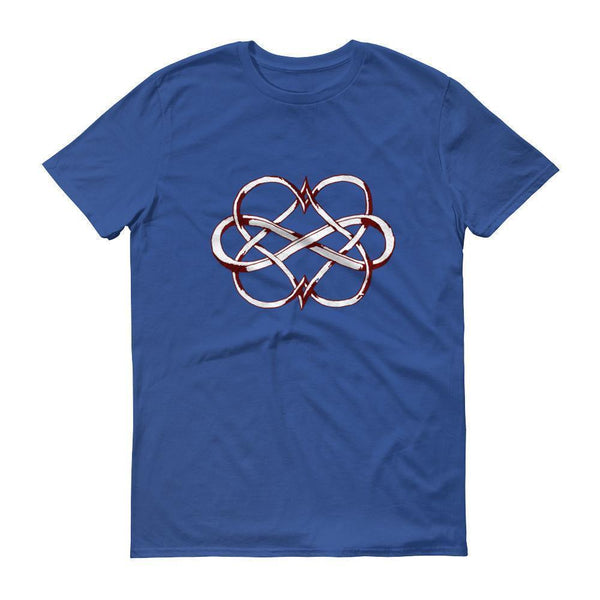 Valentines Day Gifts Heart Infinity Love TShirt-T-Shirt-BelDisegno-Royal Blue-S-BelDisegno