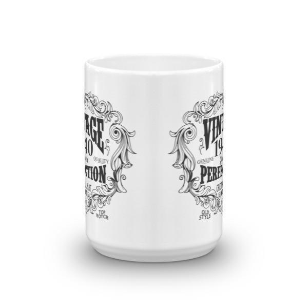 80 years old Coffee Mug - born in 1940 Size: 11oz, 15ozColor: White, Black