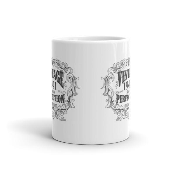 79 years old Coffee Mug - born in 1941 Size: 11oz, 15ozColor: White, Black