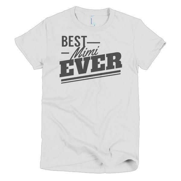 Women's Best mimi Ever TShirt-T-Shirt-BelDisegno-White-S-Women-BelDisegno