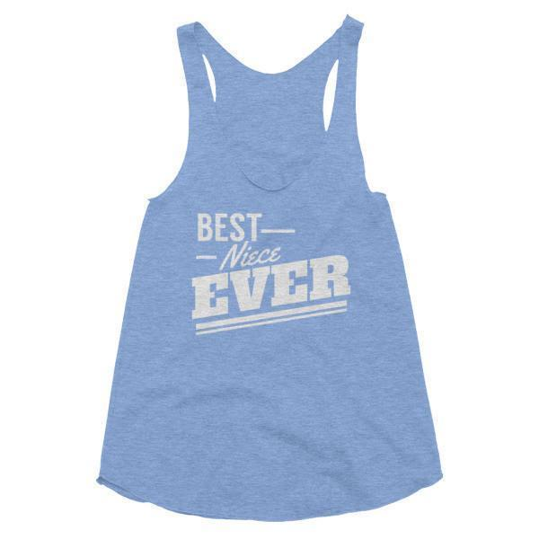 Women's Best Niece Ever Tank Top-Tank Top-BelDisegno-Athletic Blue-XS-BelDisegno