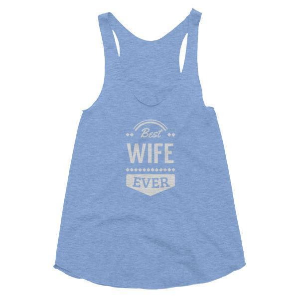 Women's Best Wife Ever Tank Top-Tank Top-BelDisegno-Athletic Blue-XS-BelDisegno