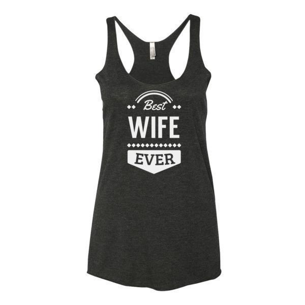 Women's Best Wife Ever Tank Top-Tank Top-BelDisegno-Vintage Black-XS-BelDisegno