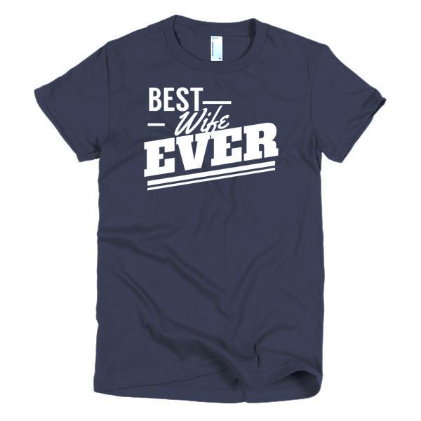 Women's Best Wife Ever TShirt-T-Shirt-BelDisegno-Navy-S-Women-BelDisegno
