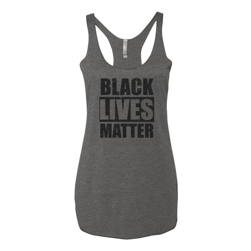 Women's Black Lives Matter Tank Top Premium Heather / XL Tank Top BelDisegno