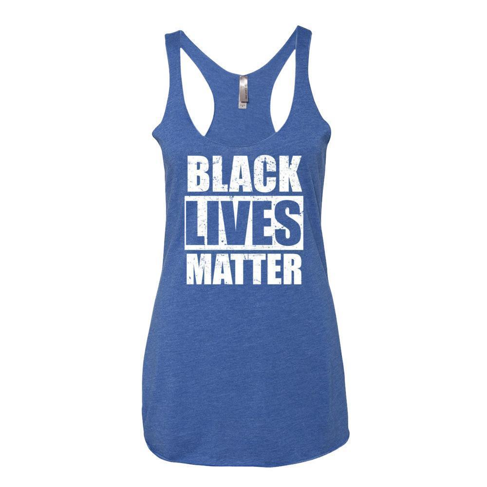 Women's Black Lives Matter Tank Top Vintage Royal / XL Tank Top BelDisegno