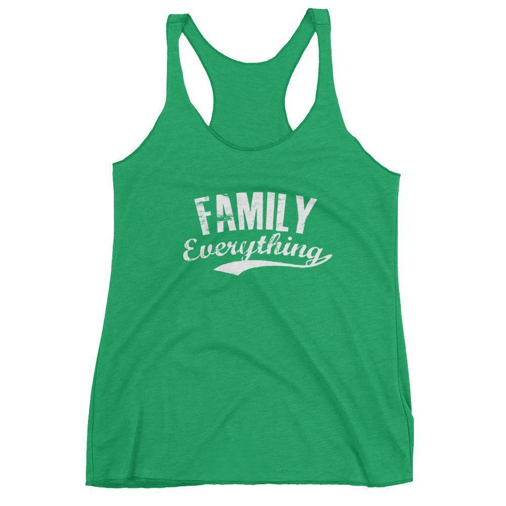 Women's Family Everything tank top gift for family lovers Envy / XL Tank Top BelDisegno