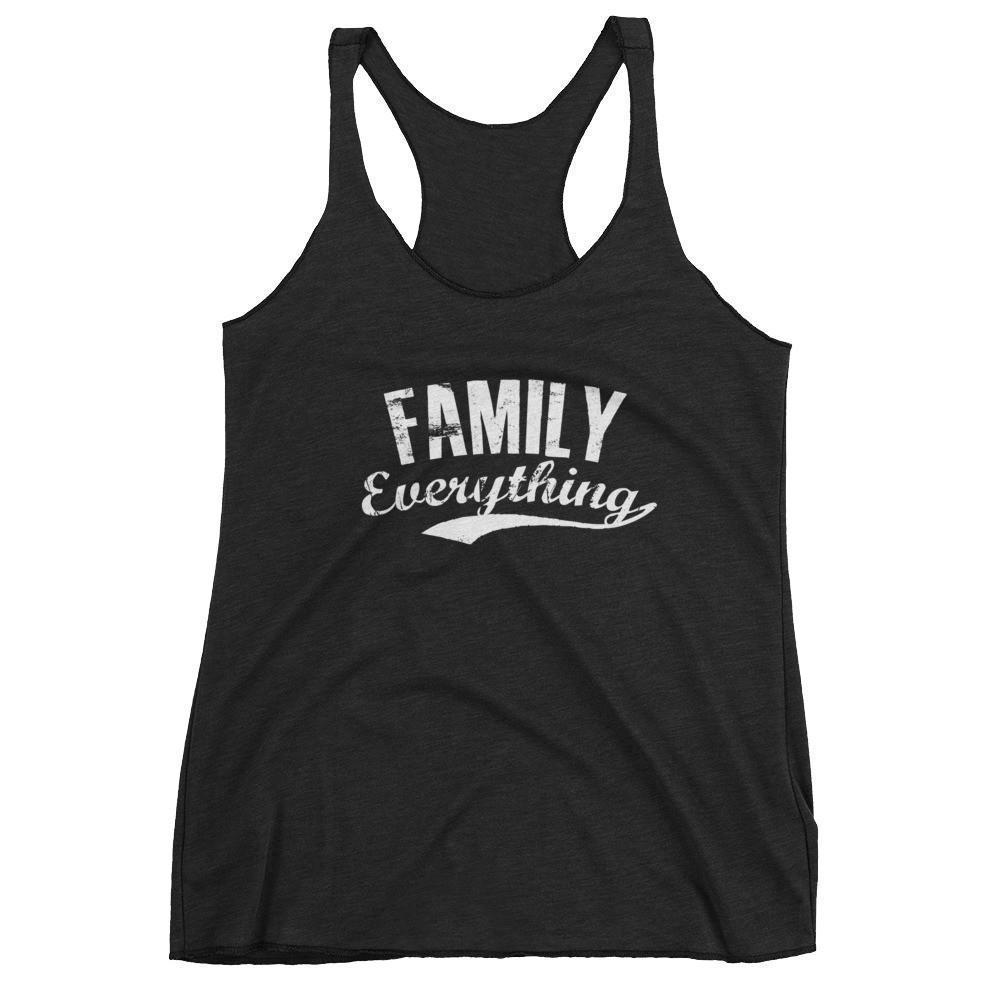 Women's Family Everything tank top gift for family lovers Vintage Black / XL Tank Top BelDisegno