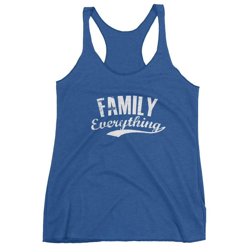 Women's Family Everything tank top gift for family lovers Vintage Royal / XL Tank Top BelDisegno