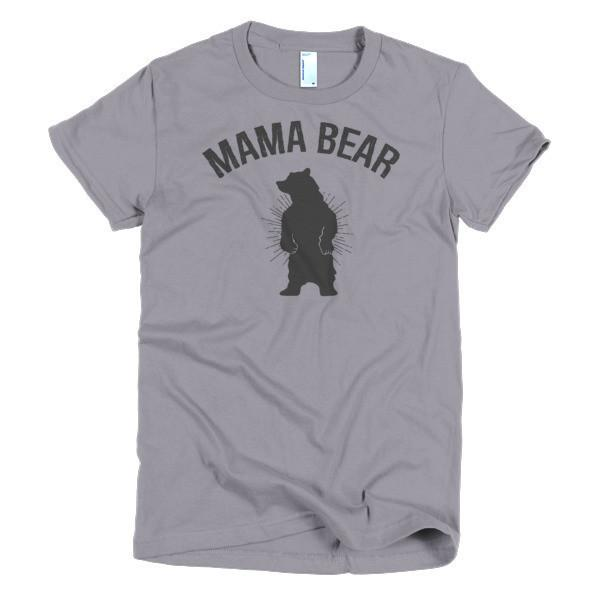 Women's Mamma Mama bear mom gift T-shirt Slate / 2XL / Women T-Shirt BelDisegno