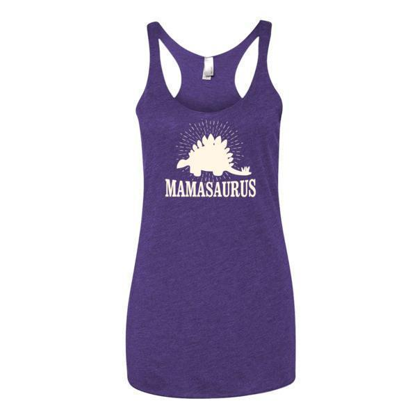 Women's mammasaurus Tank Top Purple Rush / XL Tank Top BelDisegno
