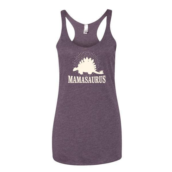 Women's mammasaurus Tank Top Vintage Purple / XL Tank Top BelDisegno