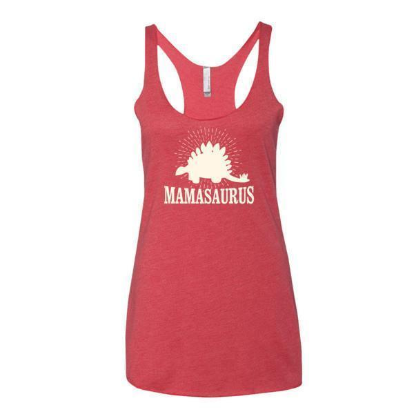 Women's mammasaurus Tank Top Vintage Red / XL Tank Top BelDisegno