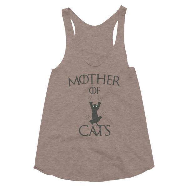 Women's Mother of Cats Tank Top Tri Coffee / L Tank Top BelDisegno