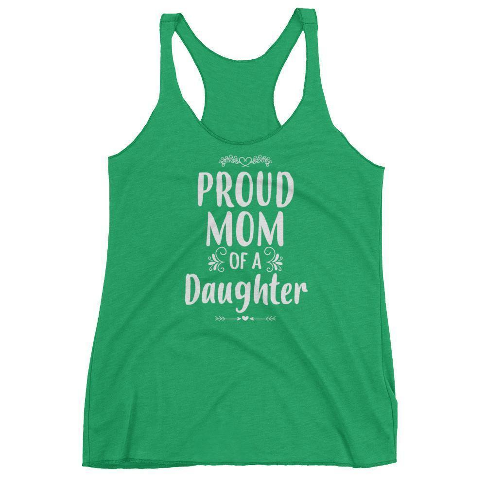 Women's Proud Mom of a Daughter tank top Funny mom gift from Daughter-Tank Top-BelDisegno-Envy-XS-BelDisegno