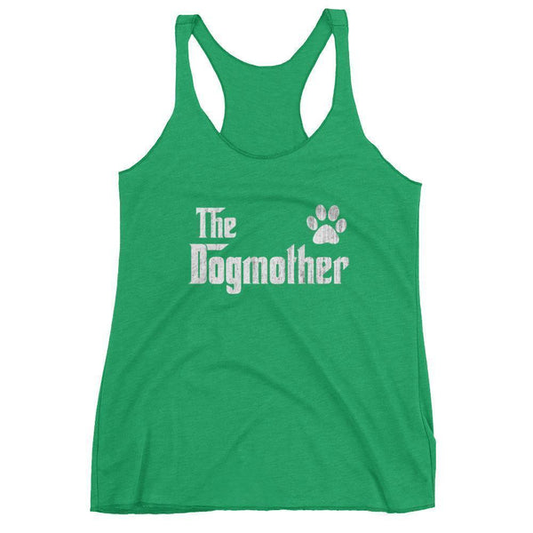 Women's The DogMother tank top Gift for dog lovers Mom-Tank Top-BelDisegno-Envy-XS-BelDisegno