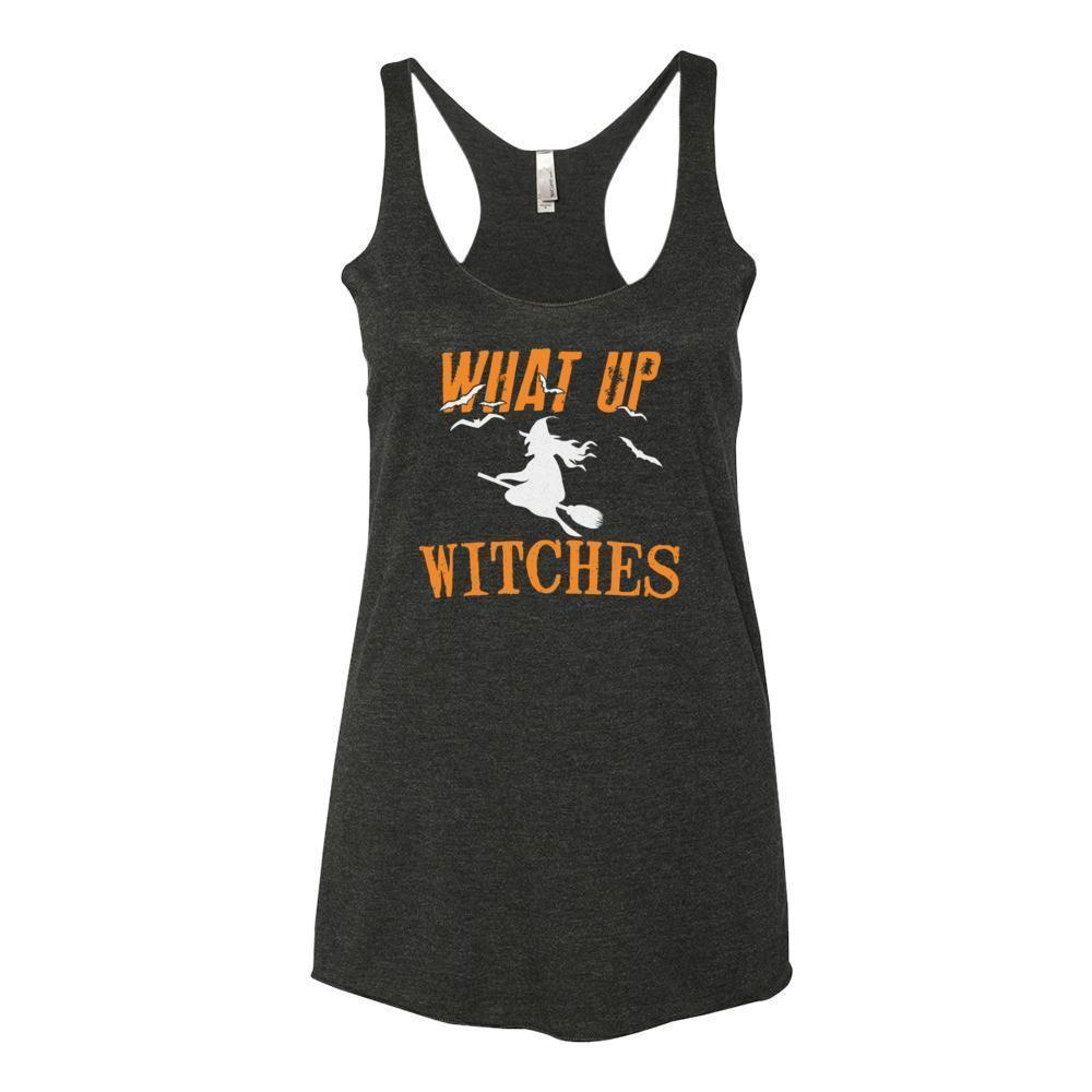 Women's What Up My Witches Funny Tank Top-Tank Top-BelDisegno-XS-Black-BelDisegno