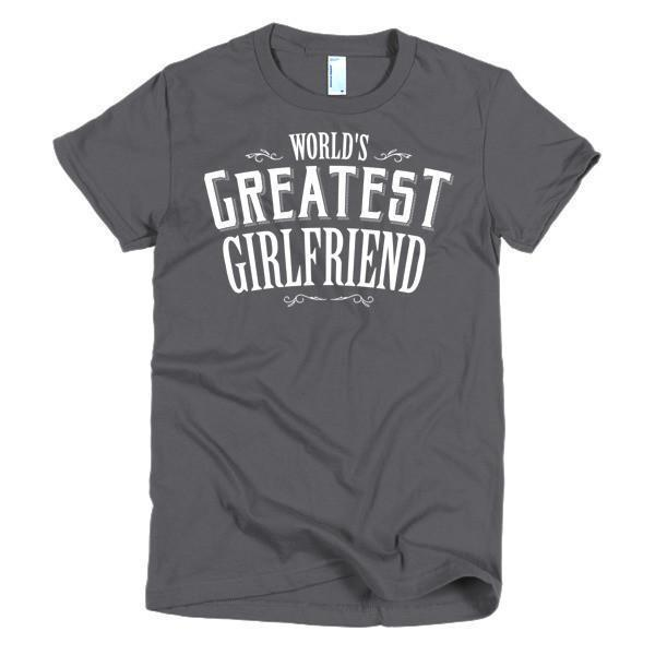 Women's World's Greatest Girlfriend Valentine day gift TShirt-T-Shirt-BelDisegno-Asphalt-S-Women-BelDisegno
