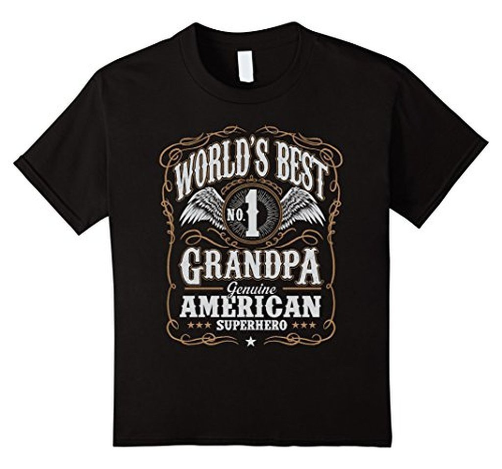 World's Best Grandpa Dad Birthday Gifts Father's day T-shirt