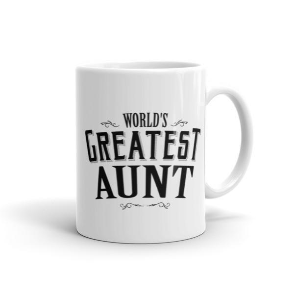 World's Greatest Aunt Coffee Mug-Mug-BelDisegno-11oz-BelDisegno