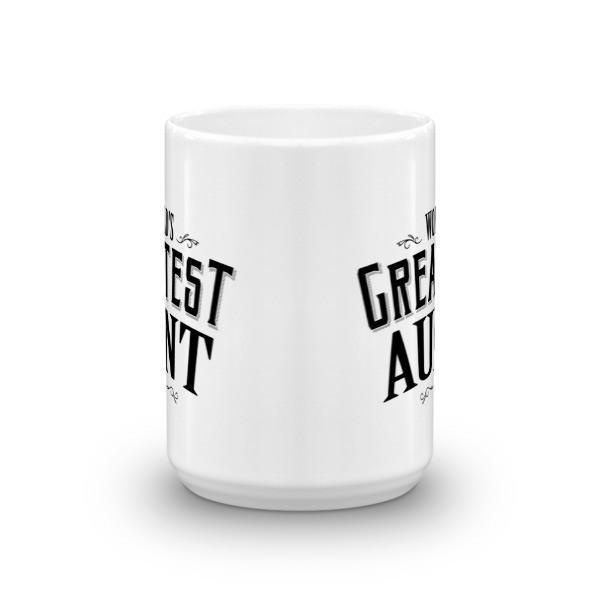 World's Greatest Aunt Coffee Mug-Mug-BelDisegno-BelDisegno
